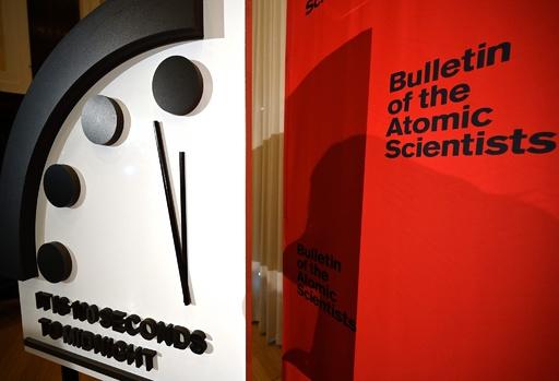 「終末時計」残り100秒 1947年の設置以来最短に