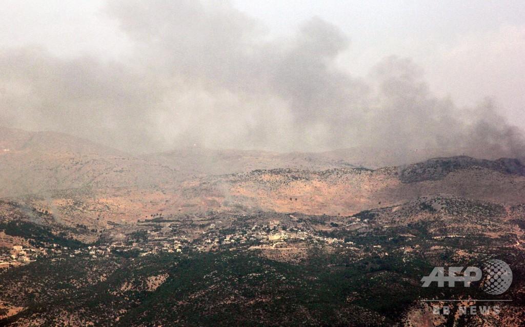 イスラエル、ヒズボラの越境攻撃阻止と発表