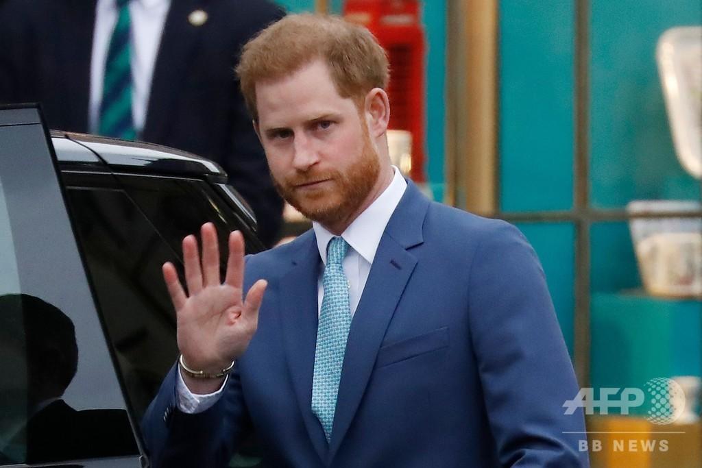 ヘンリー英王子、グレタさんの名をかたるいたずら電話に本音?
