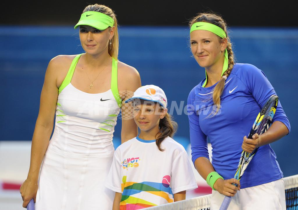 シャラポワとアザレンカの絶叫対決?全豪オープンテニス