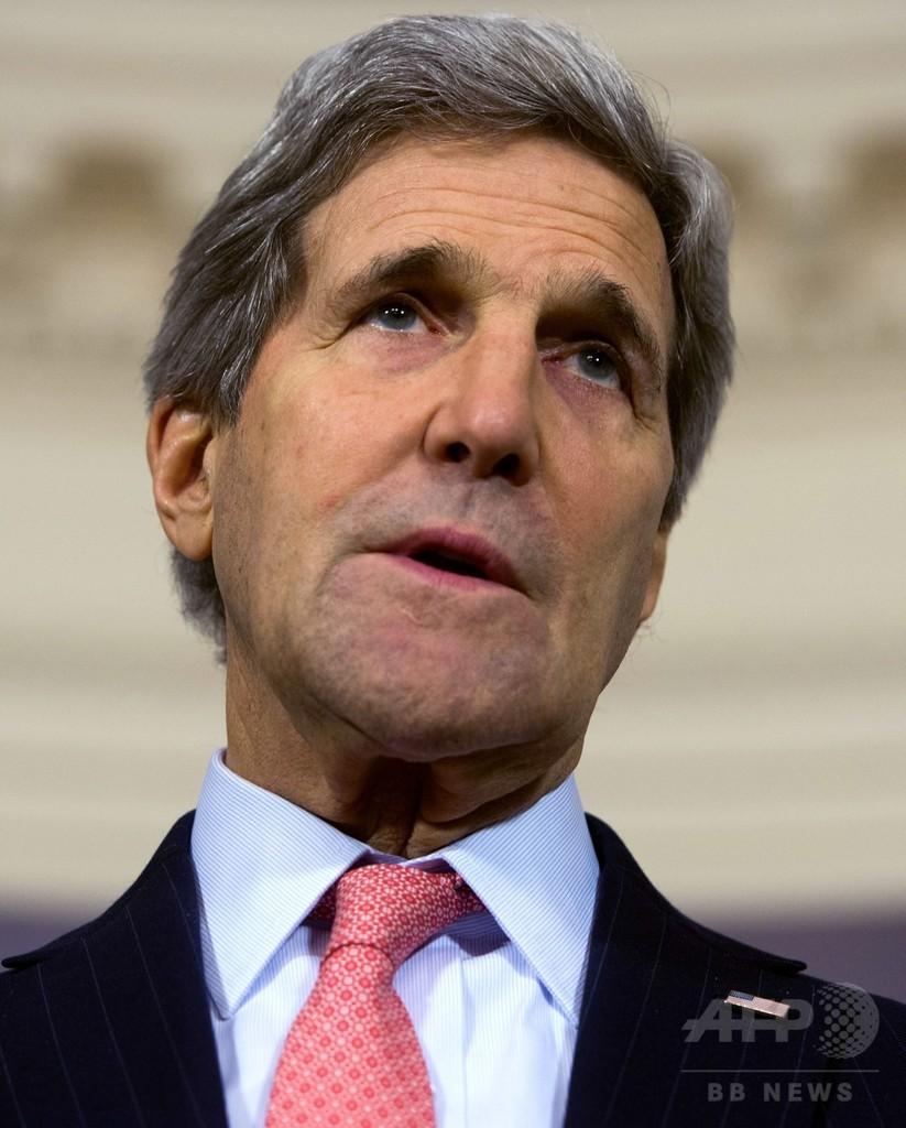 ロシア、シリアで軍事増強か 米国務長官が懸念表明