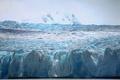チリ南部で氷河から氷山分離、航行の障害となる恐れ