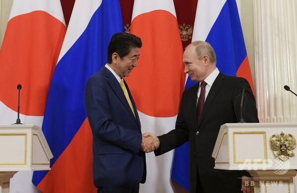日ロ首脳が会談、北方領土交渉の打開に至らず