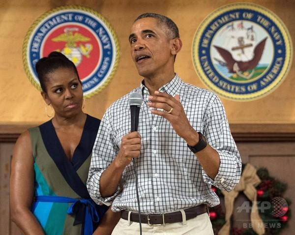 オバマ大統領「3選出馬できれば勝てた」 トランプ氏は反論