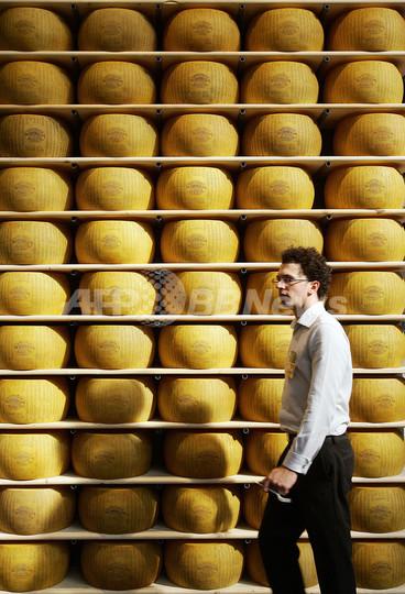 パルメザンチーズで融資OK、イタリア北部の銀行