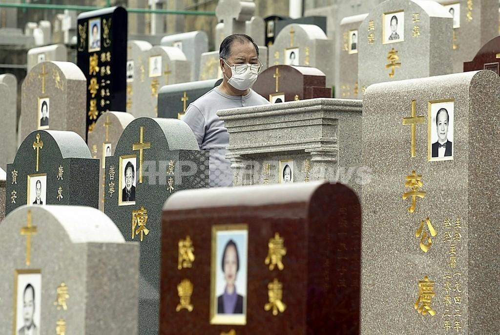 ネットでお手軽墓参り、過密都市・香港の「お墓」事情
