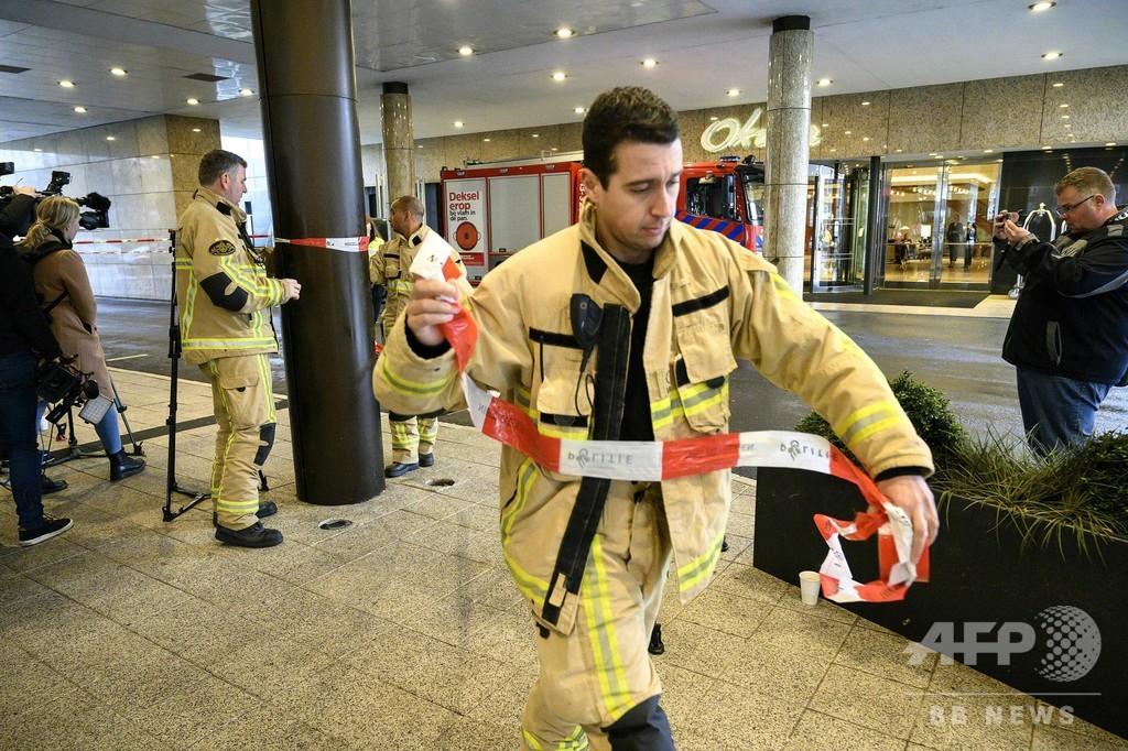 オランダで手紙爆弾の送付相次ぐ、日系高級ホテルも標的に