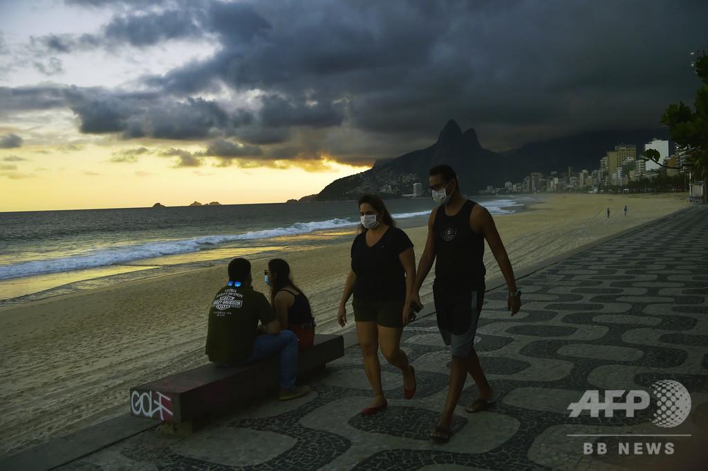 ブラジルの新型コロナ死者数、初の1日千人超え 今後ピークの恐れ
