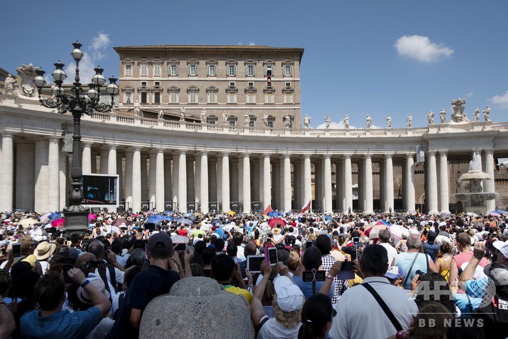 法王の演説を5か国語に、バチカンが同時通訳アプリ配信