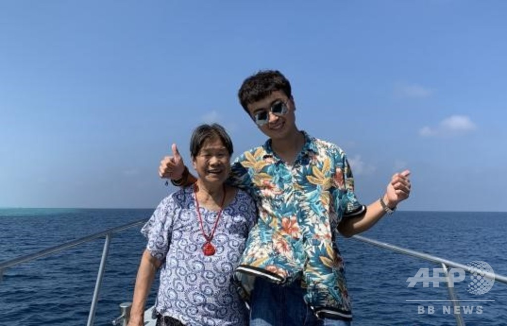 「旅行は若者の特権ではない」 世界を巡る90歳、お供は孫