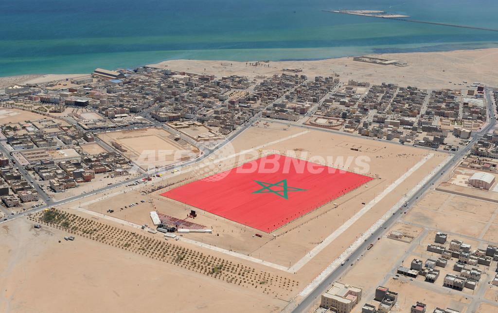 世界一大きい旗を目指せ、6万平米のモロッコ国旗
