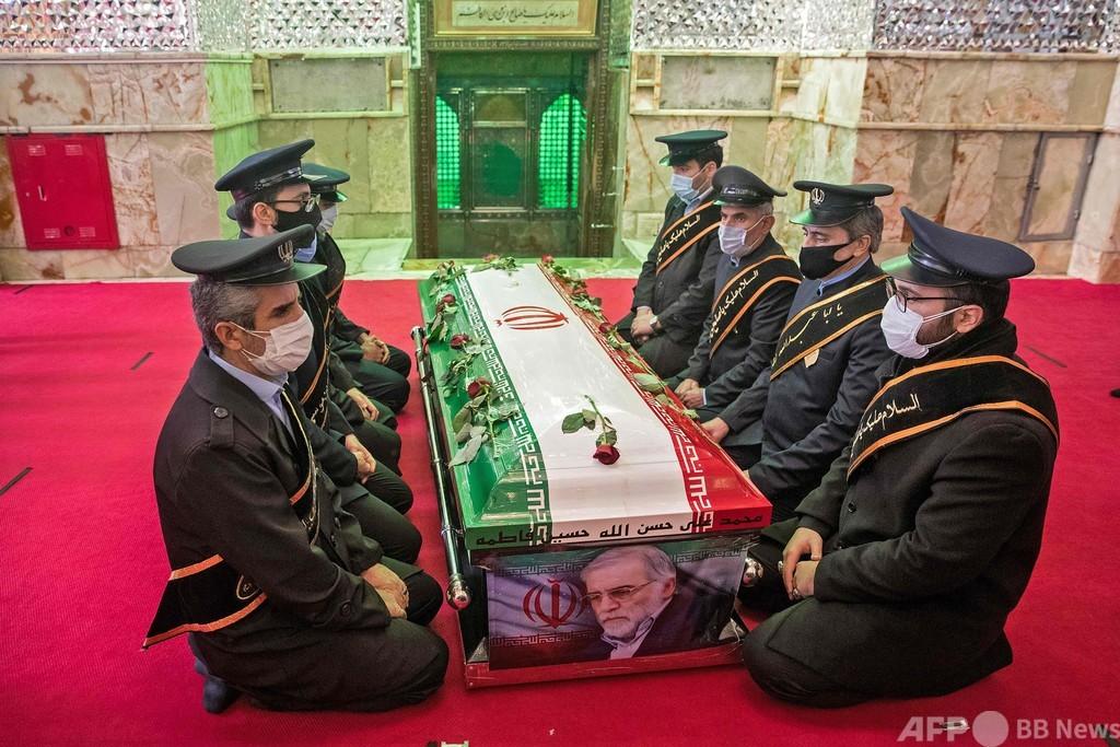 イラン科学者暗殺、手口は「複雑」 遠隔操作で銃撃か