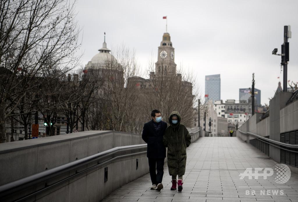 まるで昏睡状態、新型ウイルスで静止した巨大都市・上海