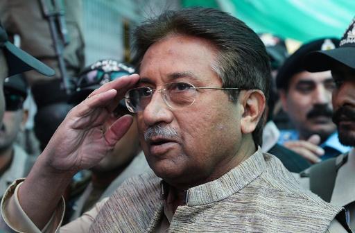 パキスタン裁判所、ムシャラフ元大統領に死刑判決
