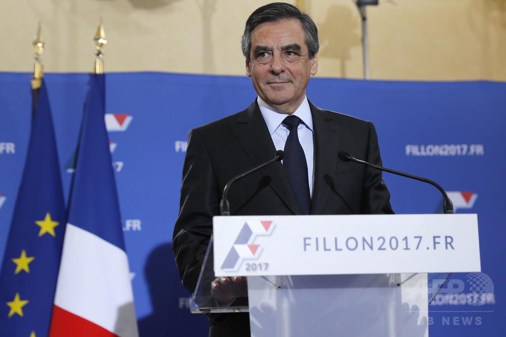 仏右派陣営の決選投票、フィヨン氏が圧勝 次期大統領「本命」に