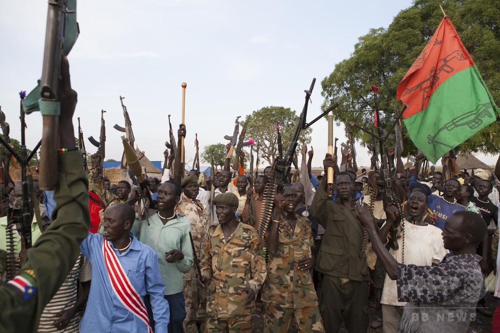 内戦状態の南スーダンで戦闘、停戦確認後で最大 飢饉の懸念も