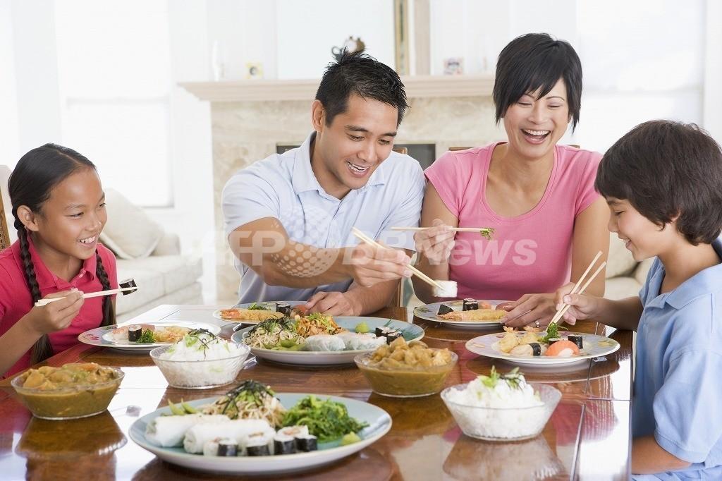 週5日自炊すると寿命が延びる、台湾調査