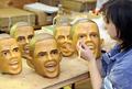 オバマ次期米大統領のゴムマスクが大ヒット、埼玉のメーカー