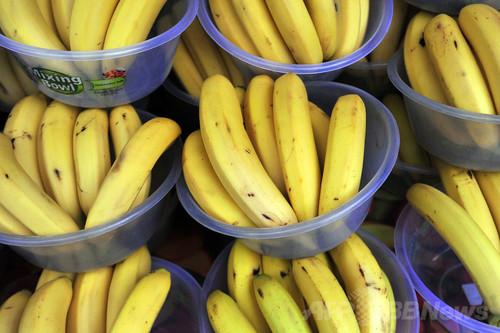 英フェアトレード基金、バナナの低価格競争反対キャンペーンを実施