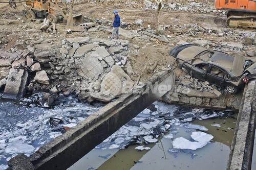 国際ニュース:AFPBB News石油パイプラインが爆発、少なくとも35人が死亡 中国