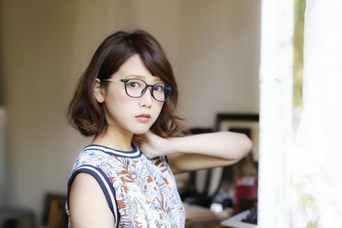 人気モデル田中里奈プロデュース、「Zoff」新フレーム発売へ