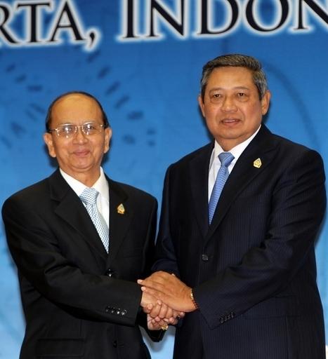 ミャンマー大統領、26日から初の訪中