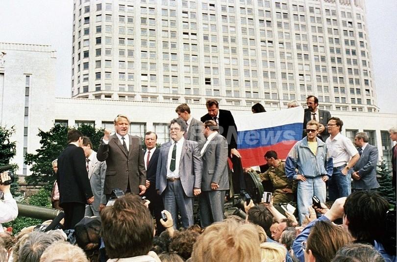 91年の旧ソ連クーデター未遂、初期電子メールが世界に情報発信