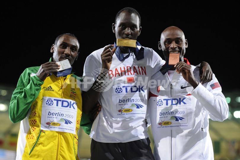 カメル 男子1500メートルを制す、世界陸上ベルリン大会