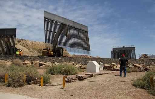 米、民間による国境壁建設が起工 資金はトランプ支持者のネット寄付