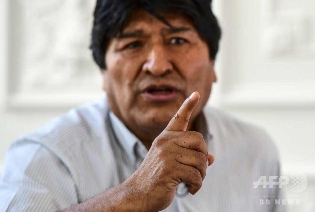 ボリビア前大統領、「クーデターはリチウム狙う米国の策略」 AFPインタビュー
