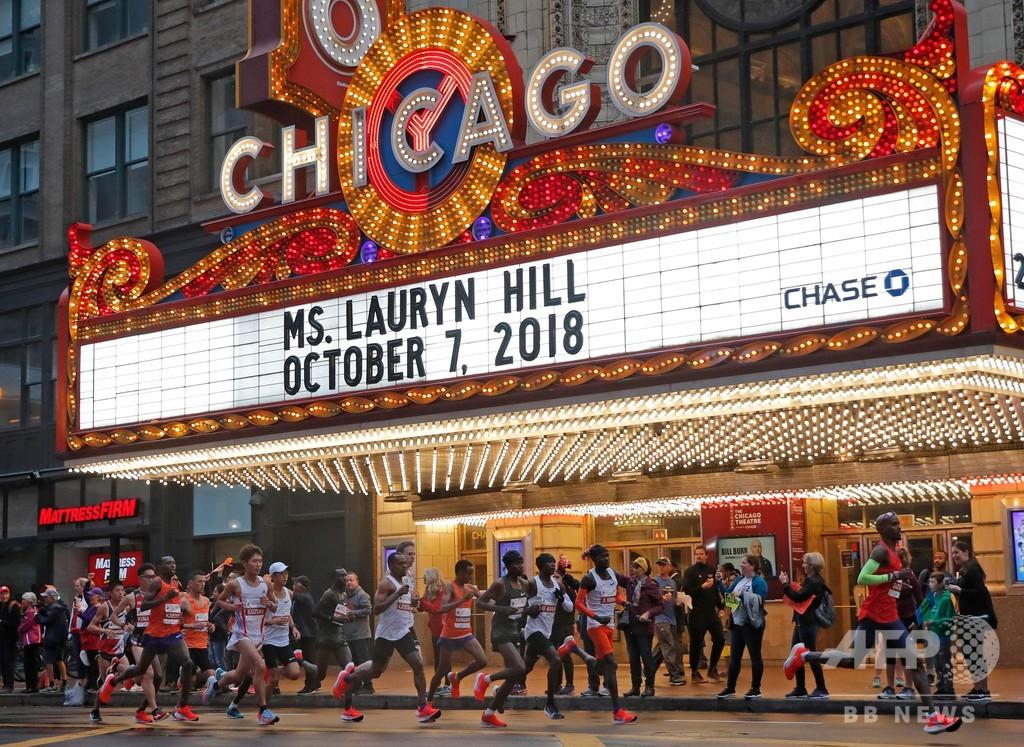 本格転向3戦目のファラーがシカゴ・マラソン優勝、大迫3位