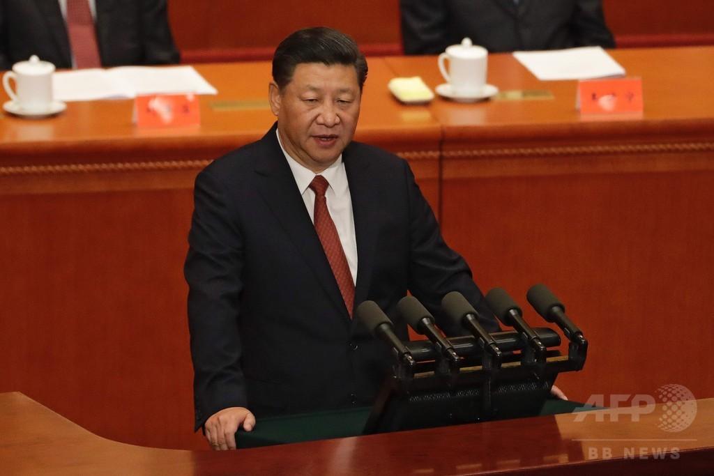 習主席「中国領土の分裂許さない」 軍創設90周年で演説