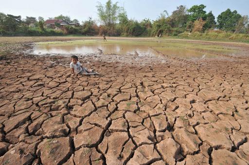 メコン川の水位が数十年ぶりの低さに、東南アジアでも干ばつ