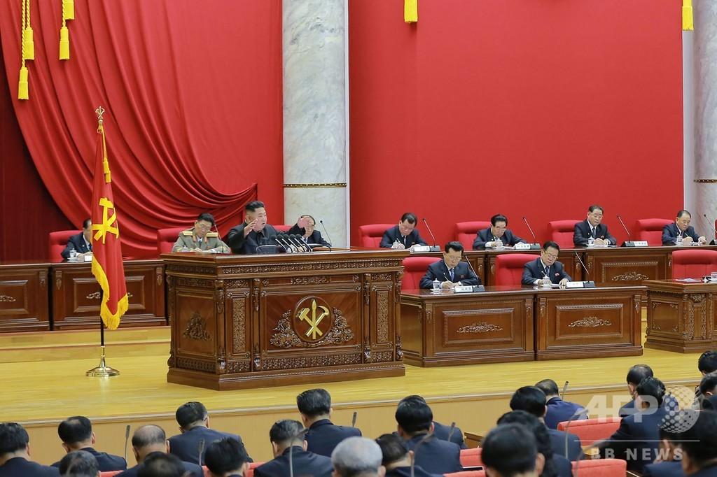 北朝鮮で党中央委員会総会、「国防建設の重大問題」討議