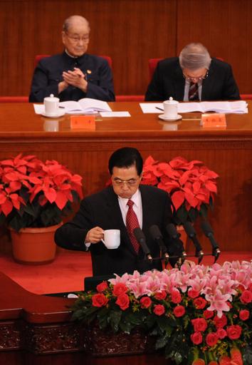 中国共産党90周年、胡主席が汚職撤廃を訴える