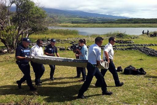 レユニオン島で発見の残骸、仏の検査施設へ 来月1日到着予定