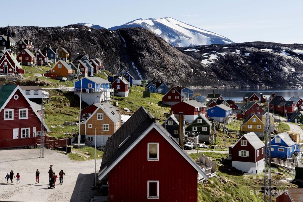 トランプ大統領、グリーンランド買収構想認める