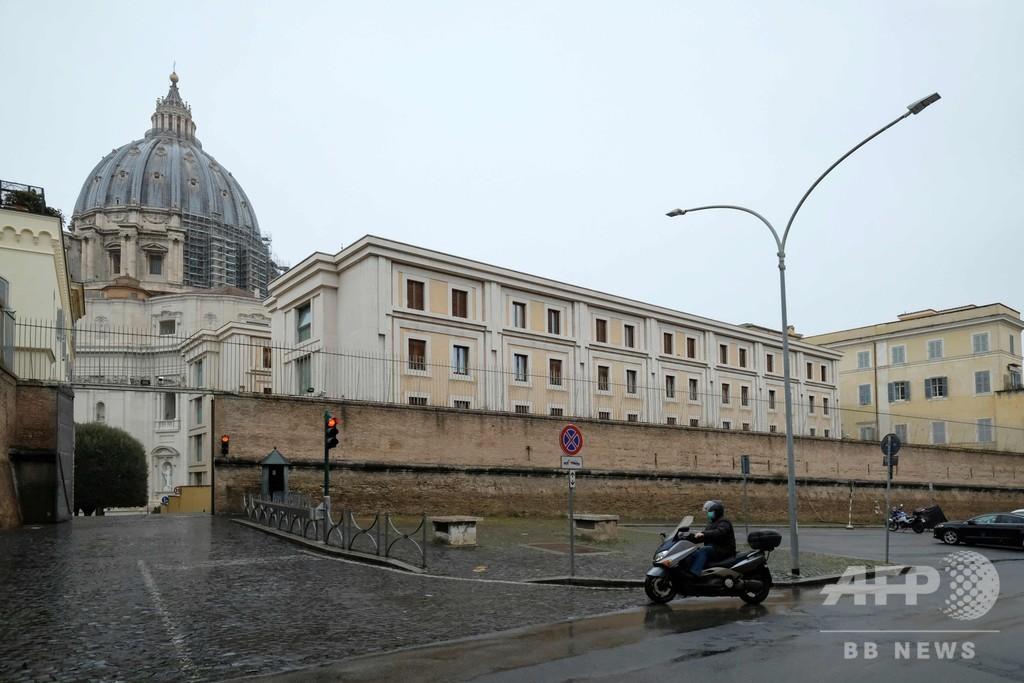 「教皇は陰性」と伊紙 同じ施設に住む聖職者の陽性報道後