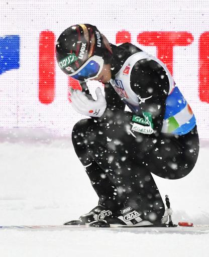 小林陵侑、NHもメダルならず ノルディック世界選手権