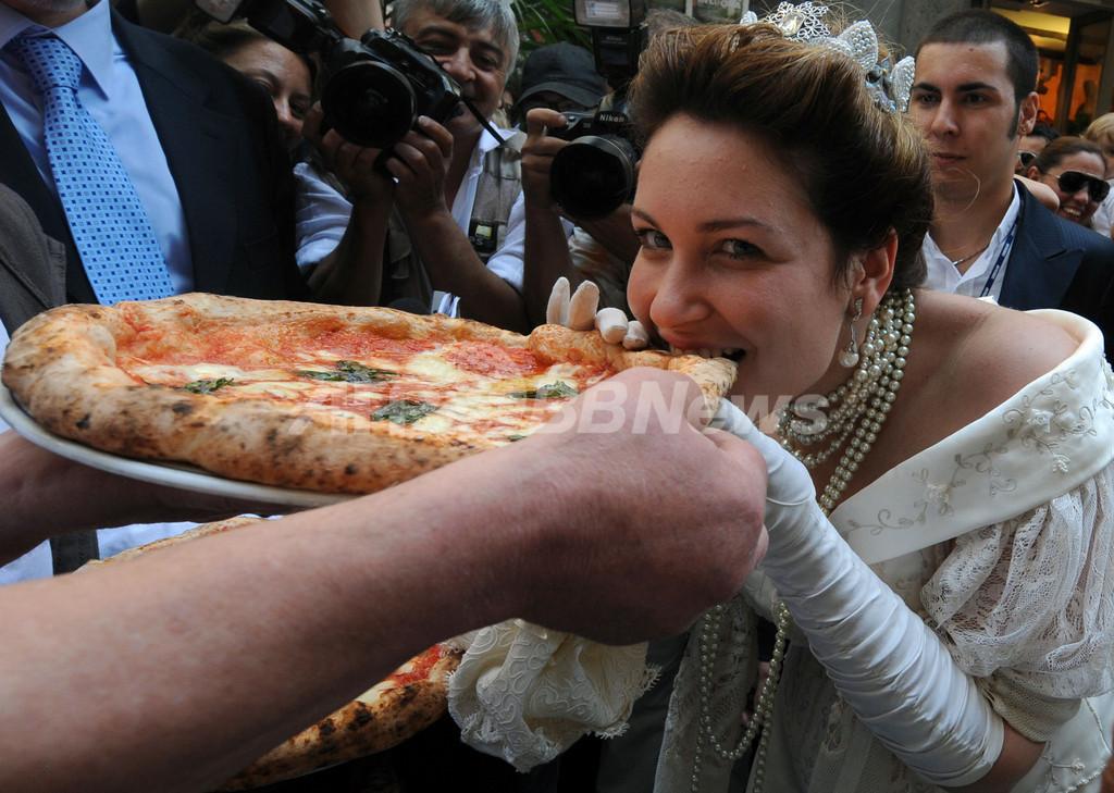 ナポリでがぶり!ピザ・マルゲリータ誕生120周年