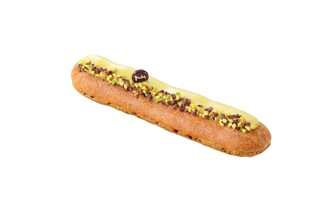 濃厚な味わいのピスタチオクリーム、「ラ・メゾン・デュ・ショコラ」新作エクレール