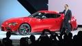 動画:トヨタ、スープラ新モデル初公開 17年ぶり復活 北米国際自動車ショー