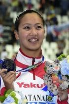 渡部香生子が女子200m個人メドレーで銀、第16回世界水泳
