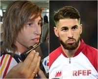 【特集】写真で振り返るサッカー選手のビフォーアフター