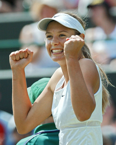 【特集】AFPの写真で振り返る女子テニス選手のビフォーアフター