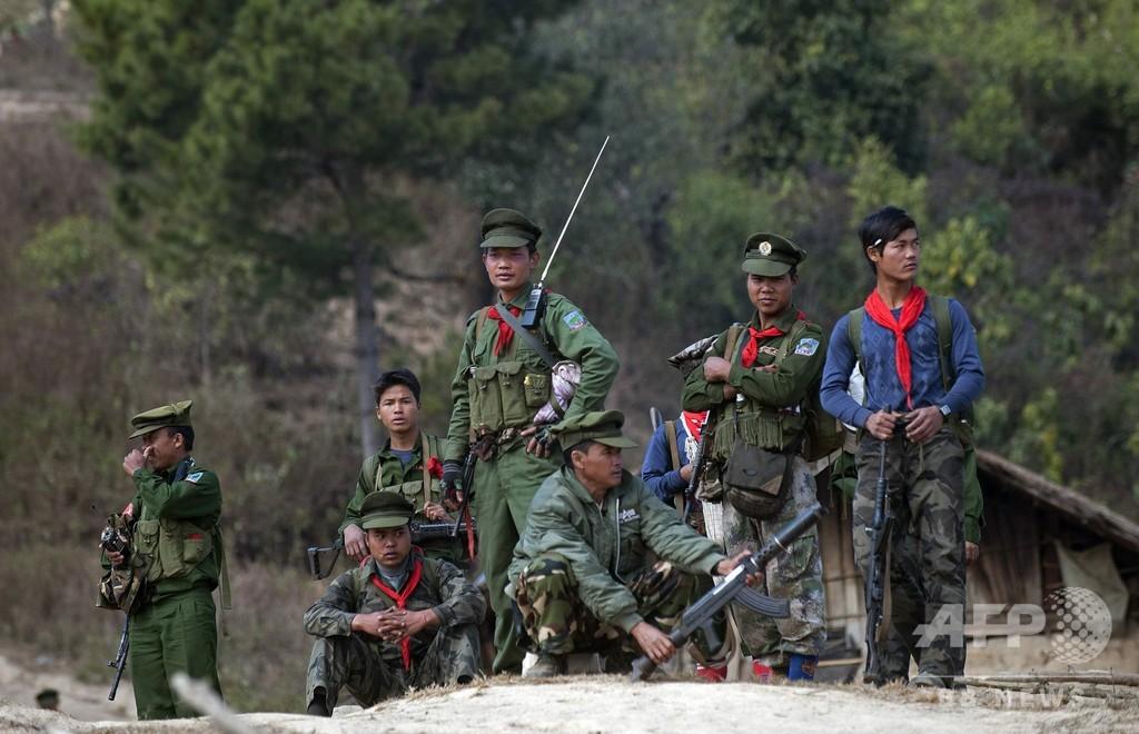 ミャンマー、武装勢力との停戦発表 和平進展へ異例の措置