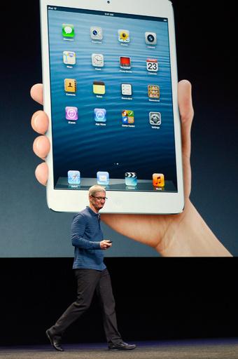 アップル、「iPad mini」を発表 11月2日発売