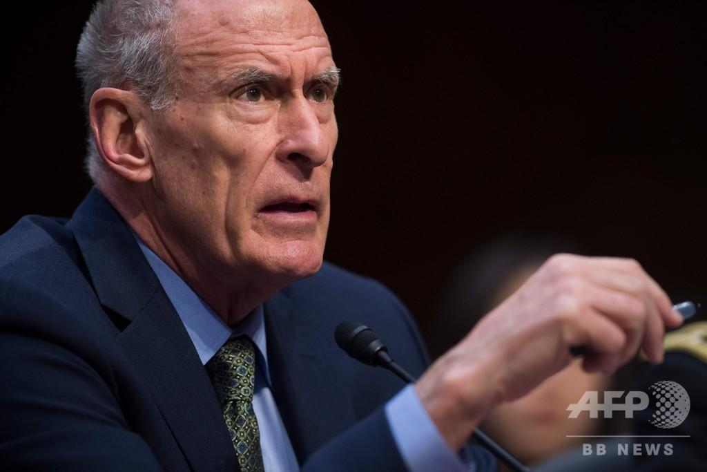 ダン・コーツ米国家情報長官、来月15日に辞任、トランプ氏 ツイッターで発表