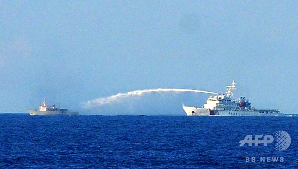 米、南シナ海で中国が「脅迫」活動と非難 ベトナム沖にまた調査船