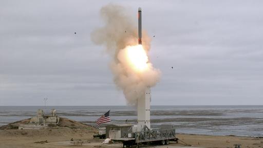 米が中距離巡航ミサイル実験 INF条約失効受け